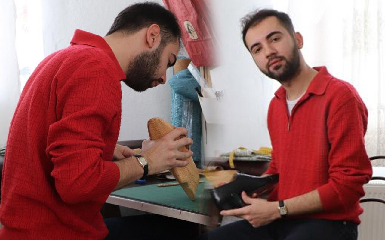 Samsun'da internette bulamayınca üretime başladı! Paraya para demiyor