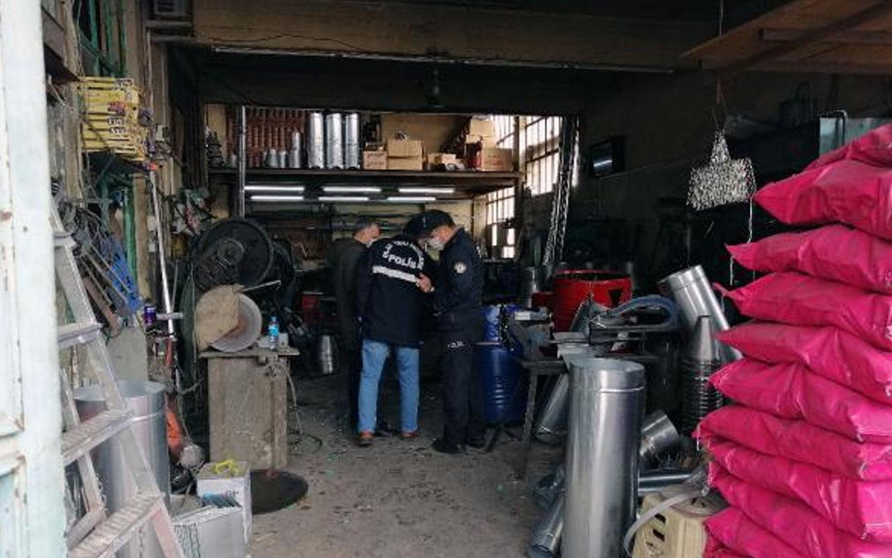 Konya'da akılalmaz ölüm: Açmaya çalıştığı yağ varili patladı