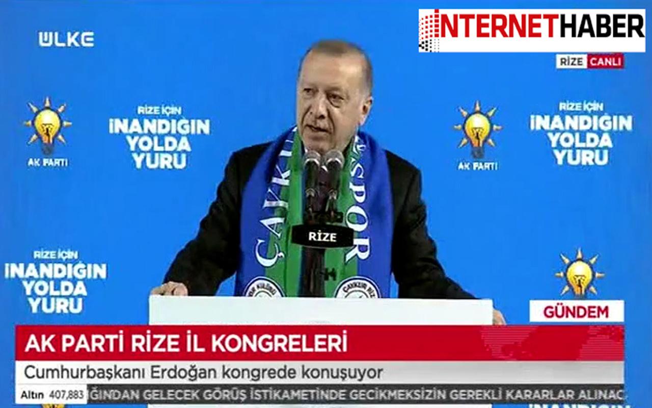 Cumhurbaşkanı Erdoğan'dan çok sert 'Gara' tepkisi! ABD, HDP ve CHP'ye zehir zemberek sözler