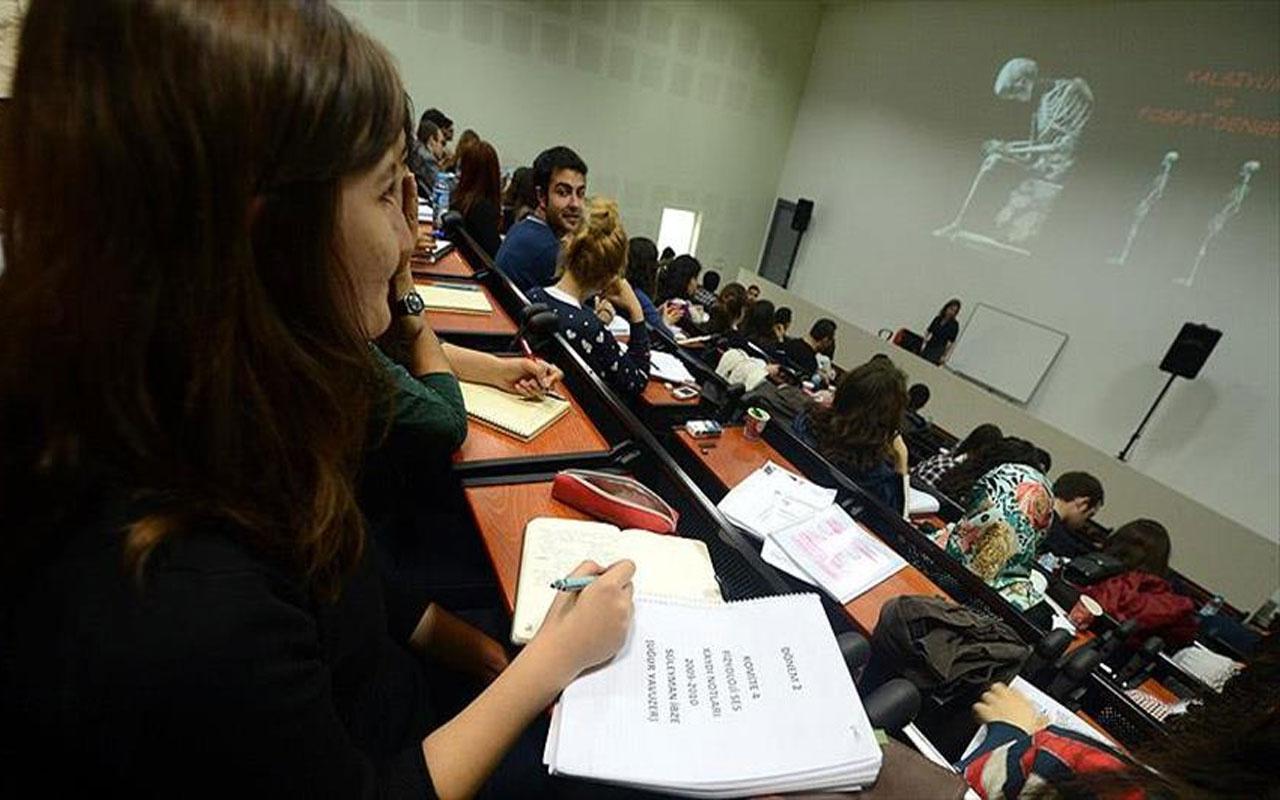 YÖK Başkanı Yekta Saraç'tan üniversitelerde yüz yüze eğitime ilişkin açıklama! Bu hafta netleşiyor