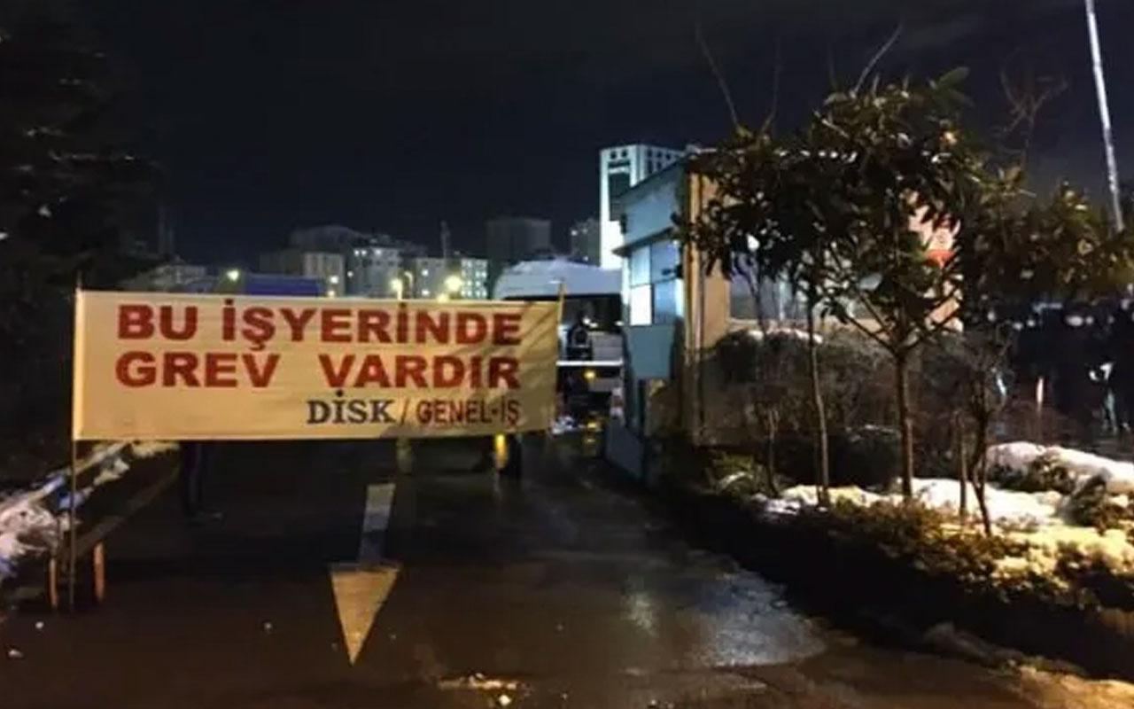 CHP'li Kadıköy Belediyesi'nin 2.300 işçisi greve gitti