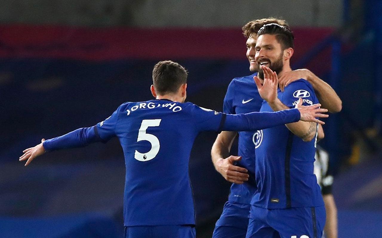 Chelsea, Newcastle United'ın işini ilk yarıda bitirdi