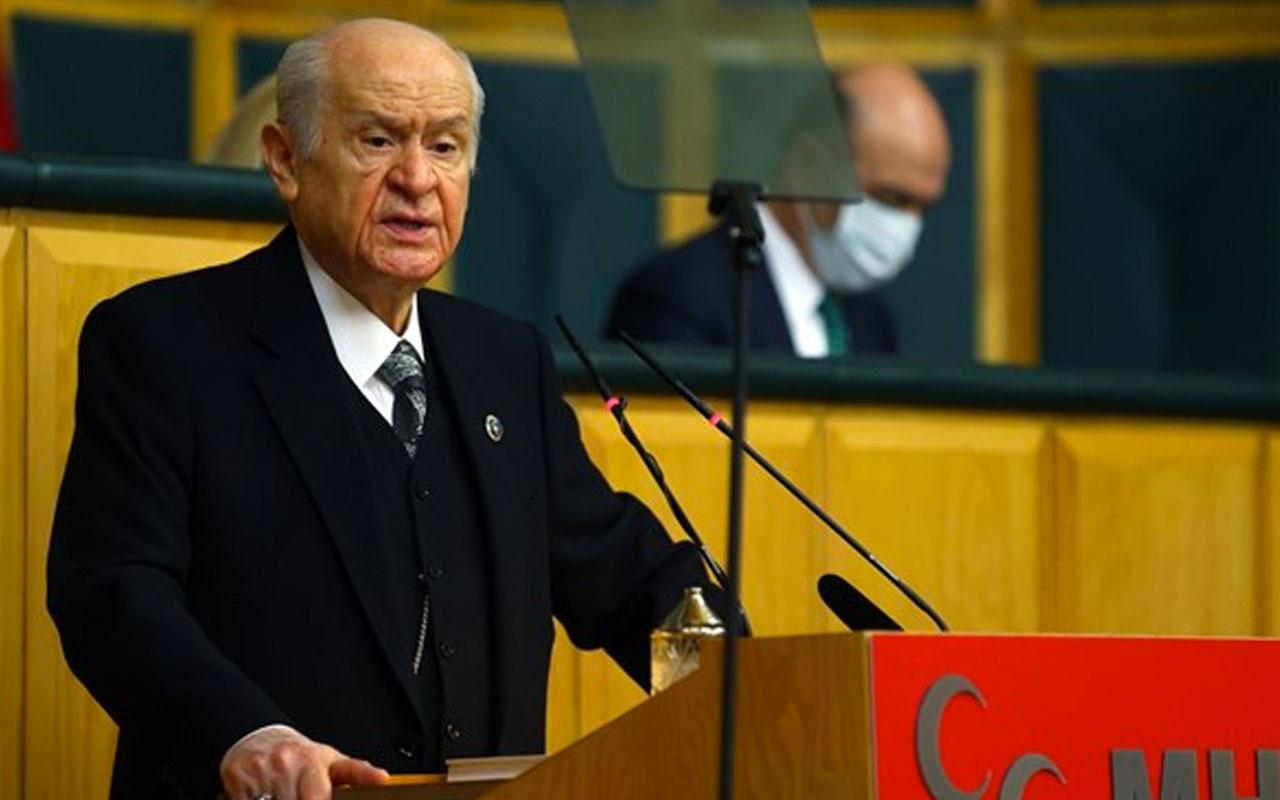 Bahçeli'den Gara açıklaması: Kandil'e bir şafak vakti Türk Bayrağı dikilmelidir
