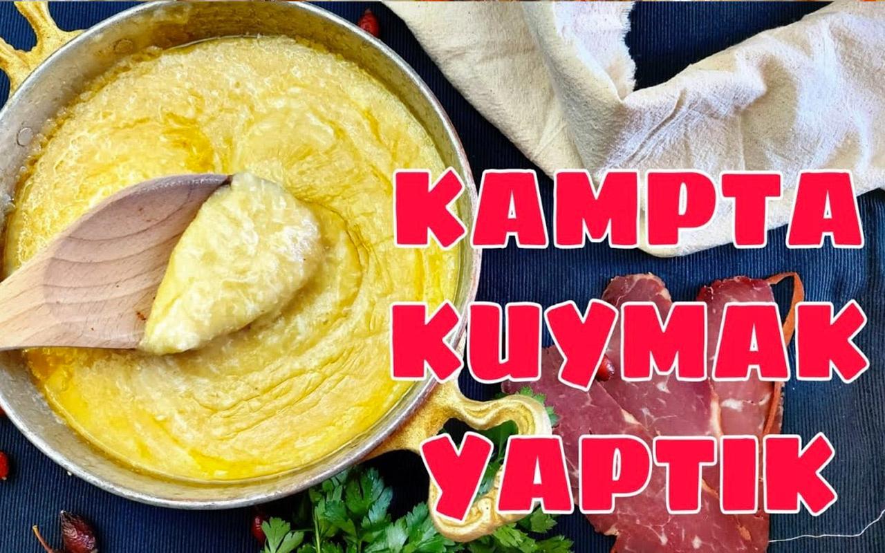 Kuymak nasıl yapılır Karadeniz'in efsane lezzeti!
