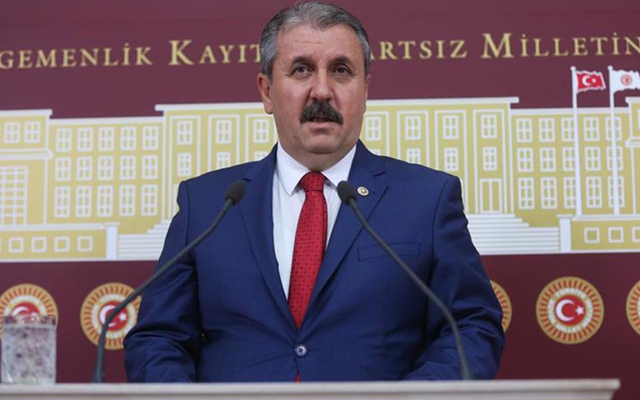 BBP Genel Başkanı Mustafa Destici: Bu mücadele devam etmelidir