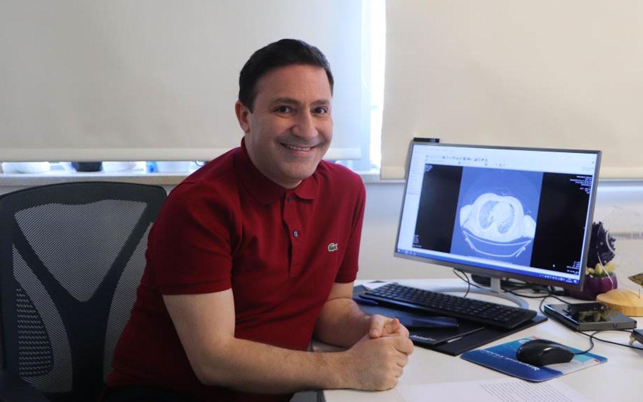 Korona geçirmiş ailenin akciğer tomografilerini inceleyen Profesör Özkaya'dan şok açıklama