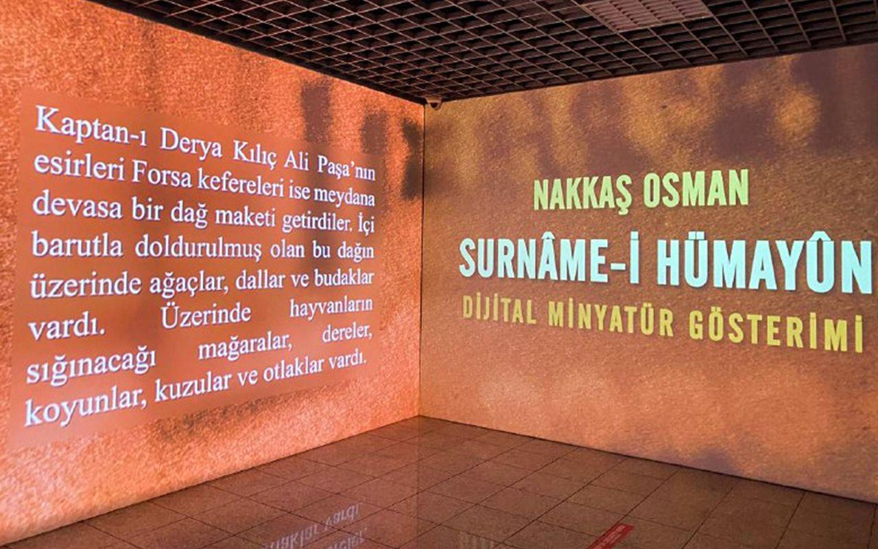 """Cumhurbaşkanlığı İletişim Başkanlığı'nın """"Dijital Minyatür Sergisi"""" açıldı"""