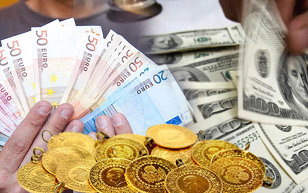 Dolarve euro yeni haftaya yükselişle başladı! Gram altın da yükseliyor işte piyasalar