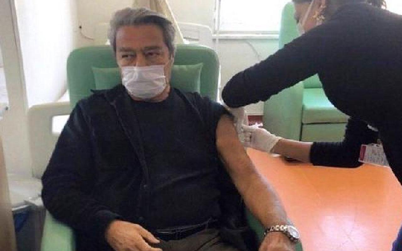Ünlü oyuncu Kadir İnanır koronavirüs aşısı oldu