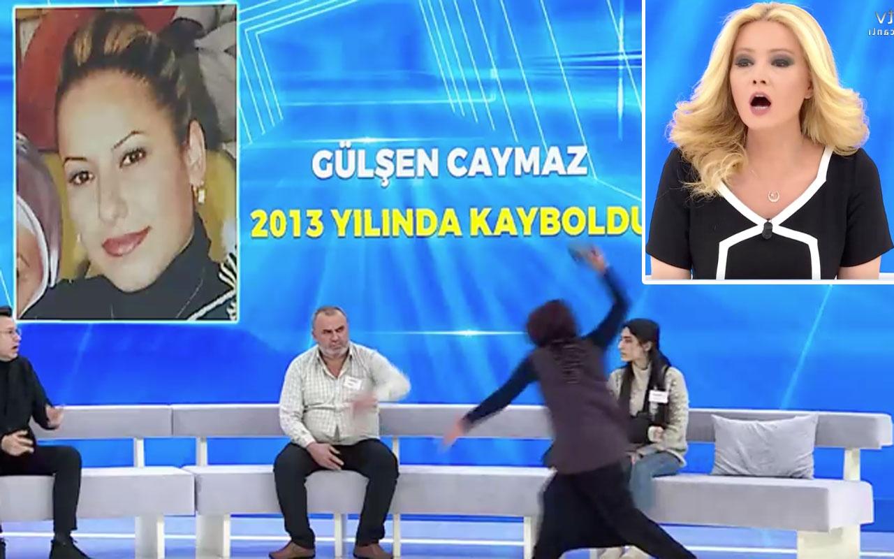 Müge Anlı Tatlı Sert ATV'de canlıda anne terliği çıkarıp konuğu dövdü