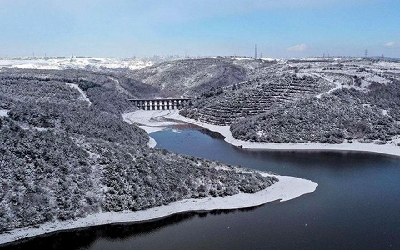 İstanbul'un barajlarındaki su seviyesinde son durum