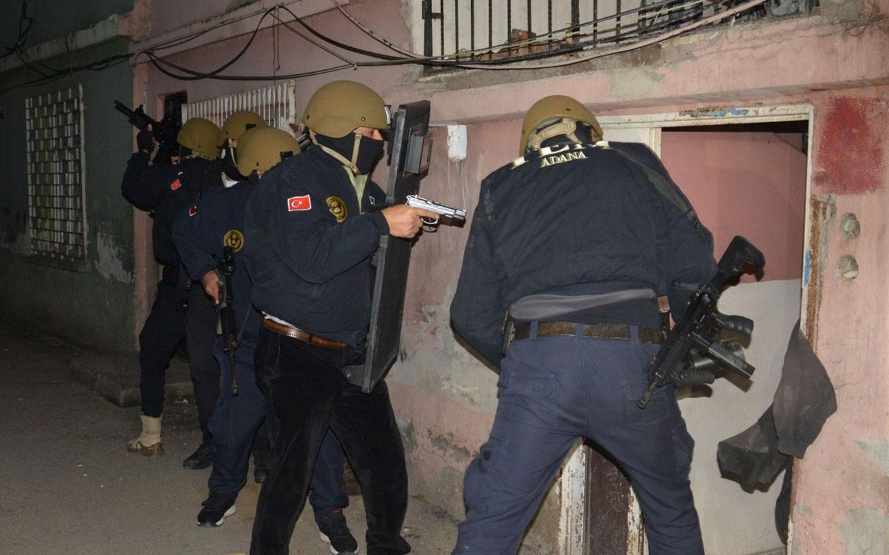 Adana'da terör örgütü DEAŞ operasyonu!  9 gözaltı kararı