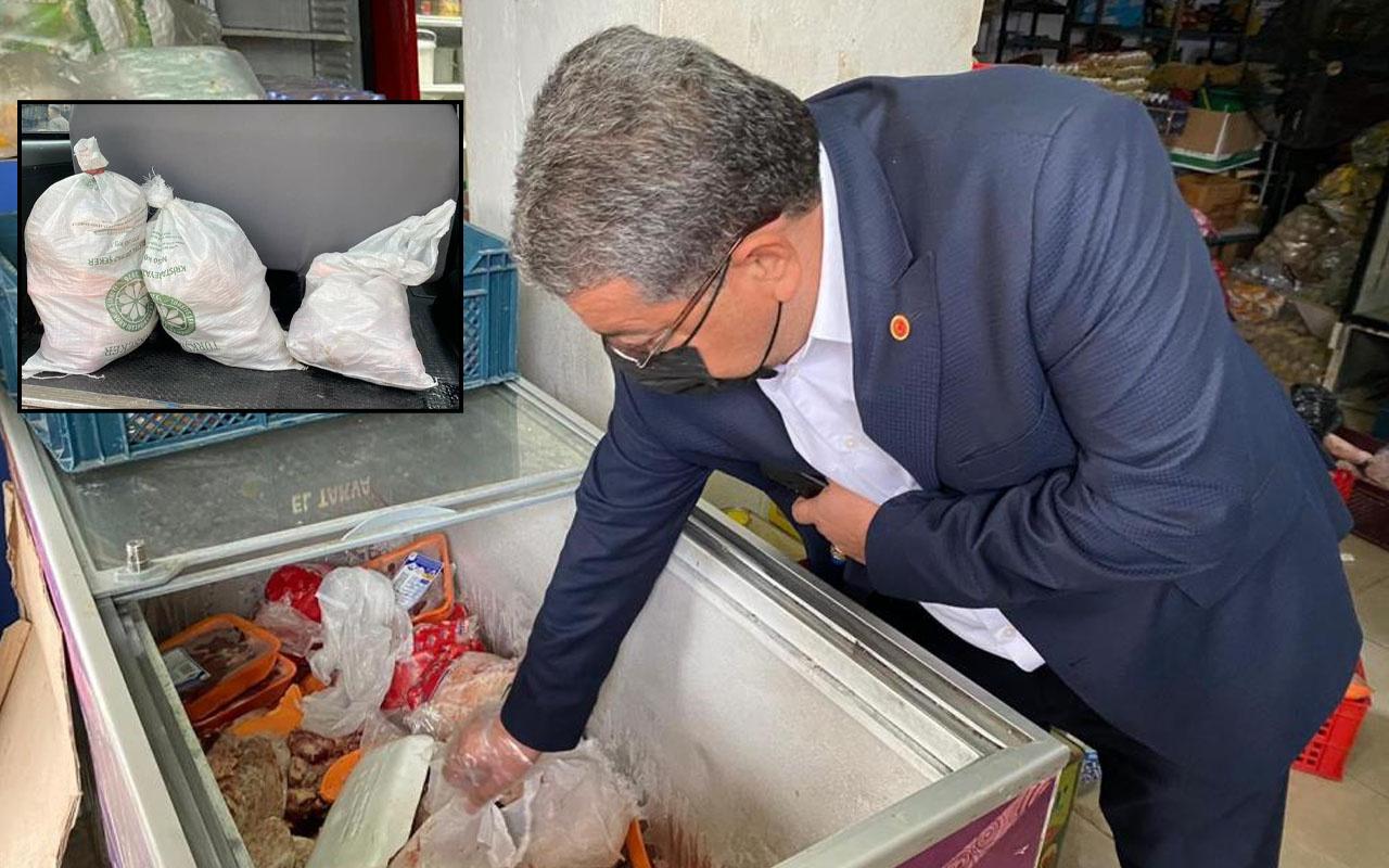 Adana'da mide bulandıran görüntü! Vatandaşa yedireceklerdi