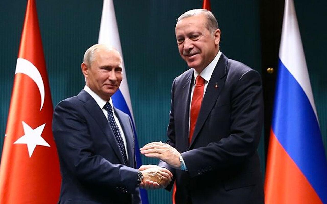 Cumhurbaşkanı Erdoğan Rus lider Putin ile telefonda görüştü