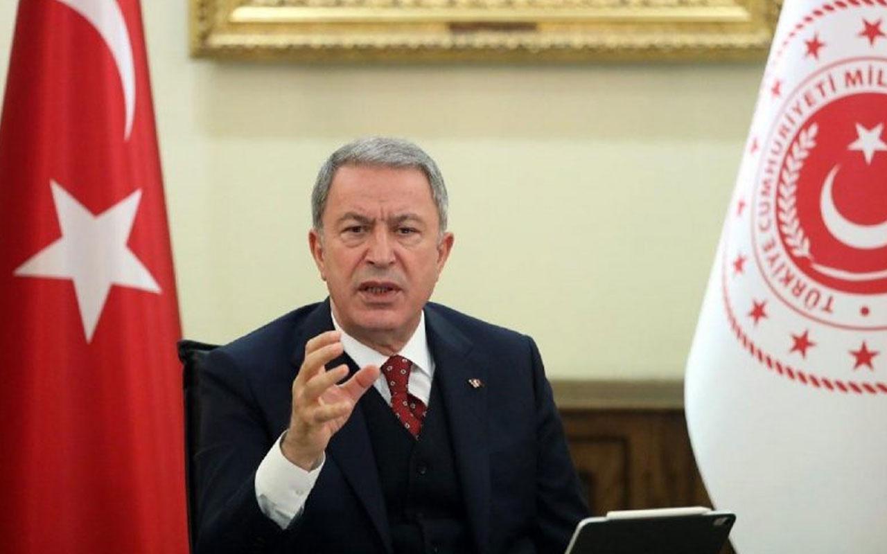 Hulusi Akar'dan NATO toplantısında terör mesajı
