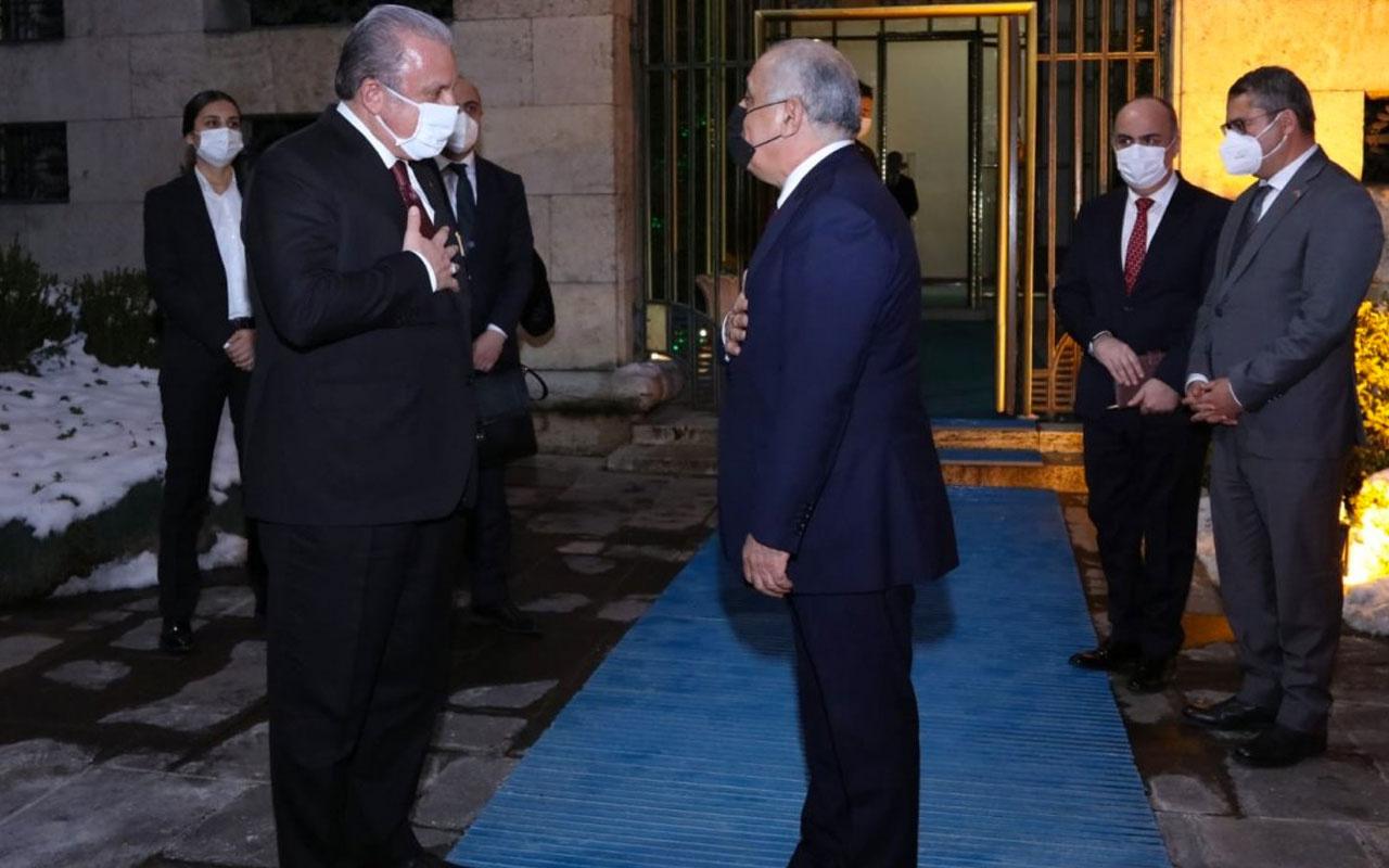 TBMM Başkanı Şentop, Azerbaycan Başbakanı Esedov'u Meclis'te ağırladı