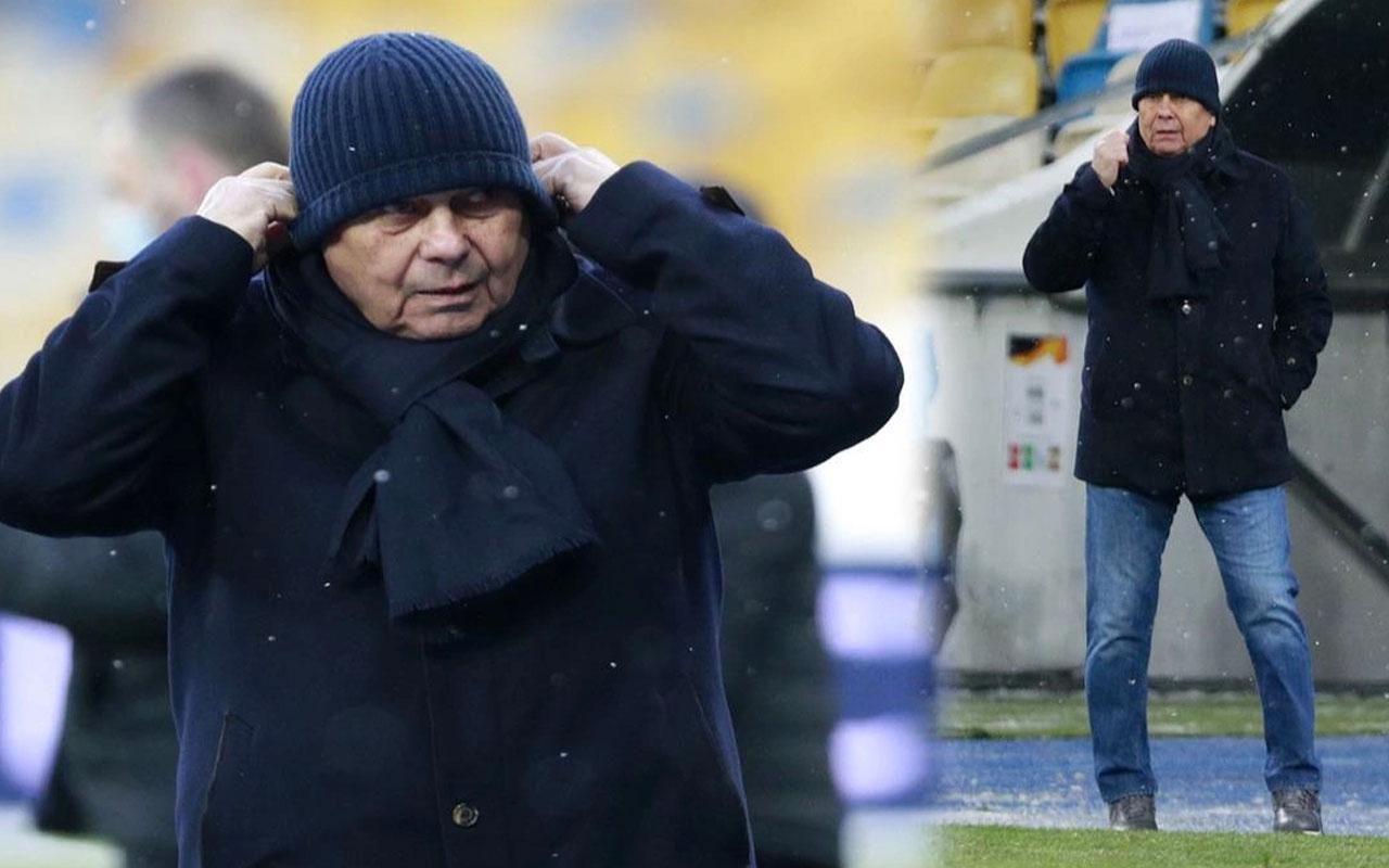 Dinamo Kiev taraftarından Mircea Lucescu'ya büyük öfke