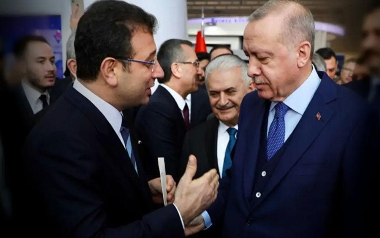 Cumhurbaşkanı Erdoğan ile Ekrem İmamoğlu arasında sürpriz görüşme! İki talebini iletti