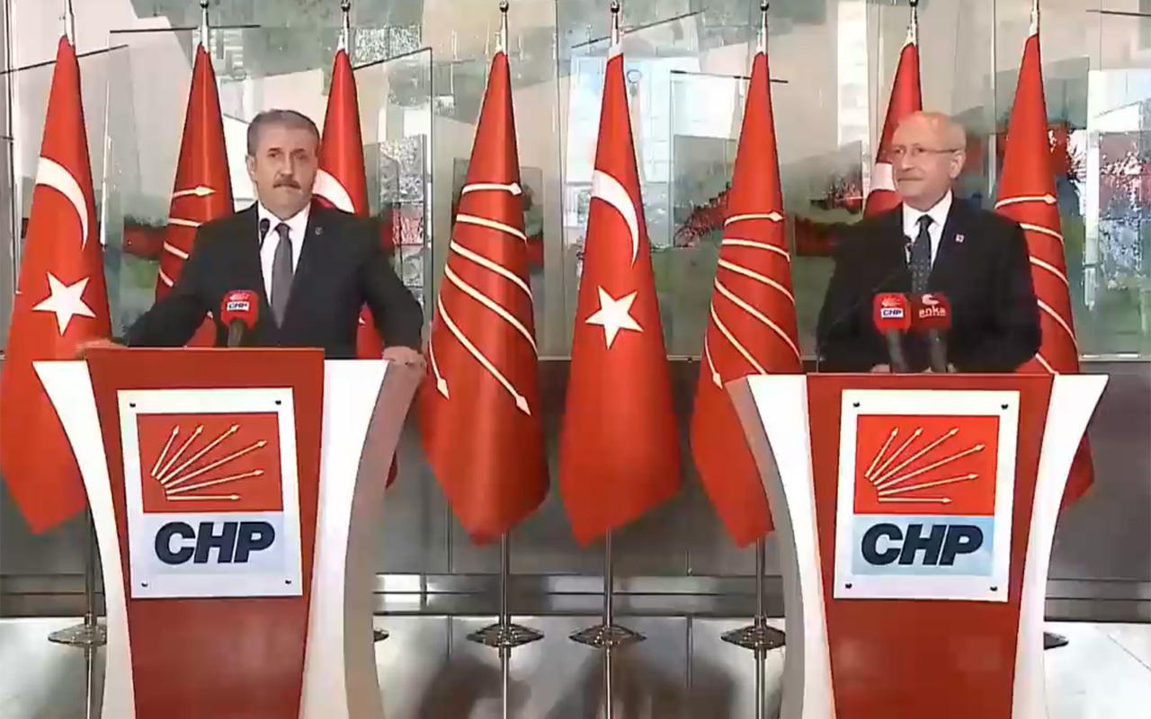 Mustafa Destici'den HDP'ye kurşun sözler