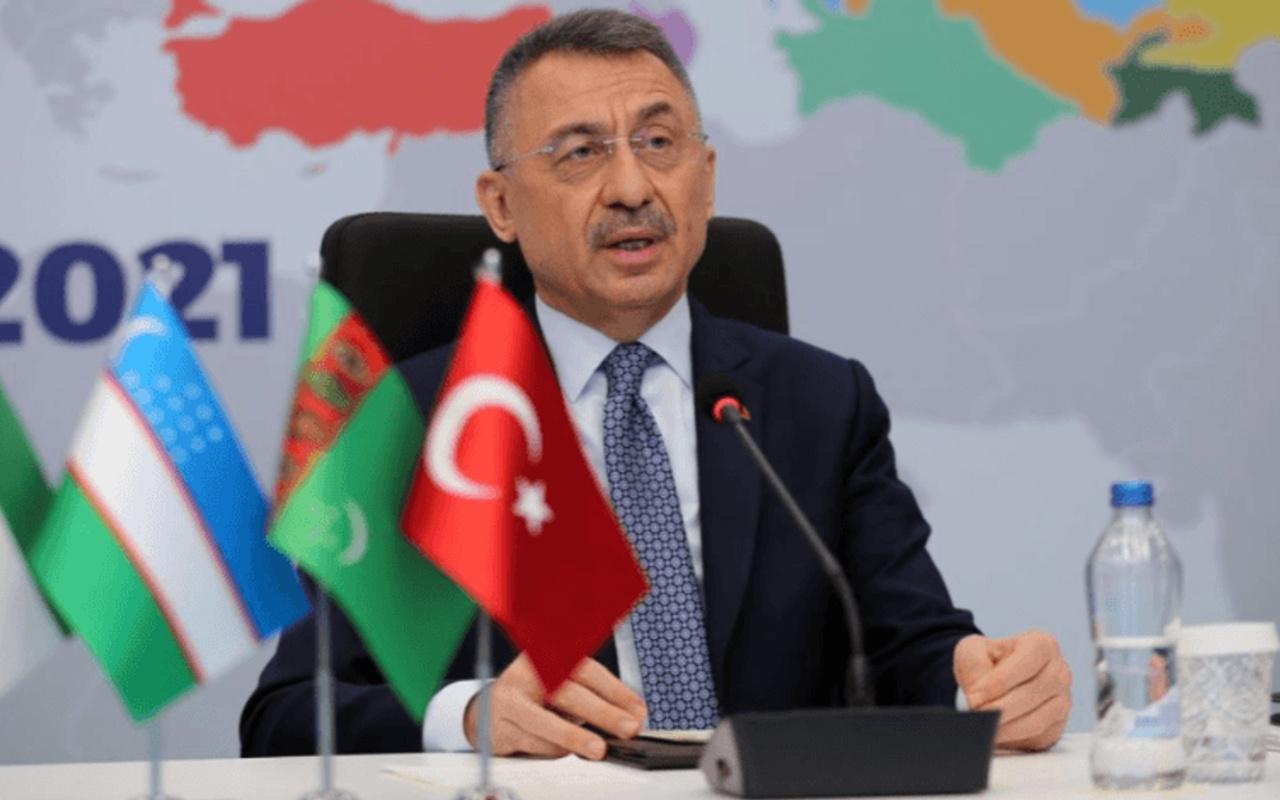 Cumhurbaşkanı Yardımcısı Oktay: Topyekun mücadelemizi güçlendirmemiz elzemdir
