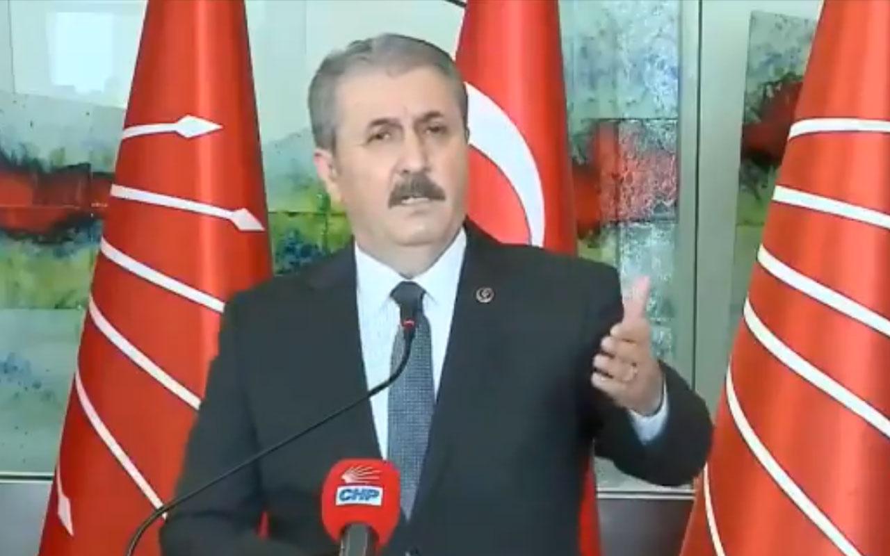 BBP lideri Destici'den HDP'ye olay sözler