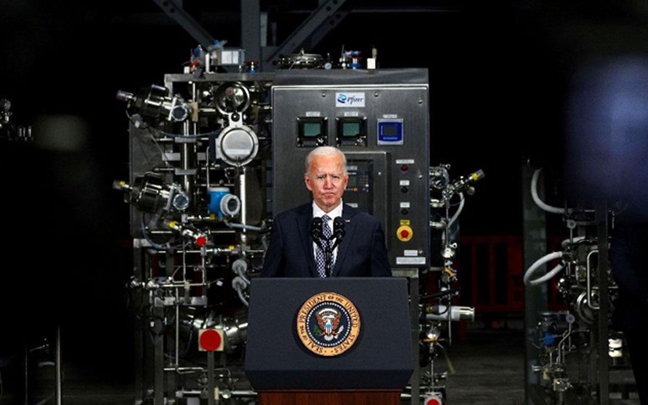 Milyonlarca doz gecikti! Joe Biden aşının merkezine gitti