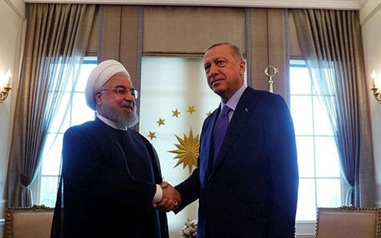 Cumhurbaşkanı Erdoğan'dan Ruhani'ye telefon