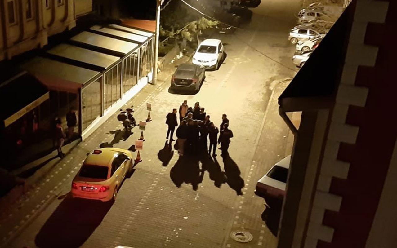 Zonguldak'ta iki grup sokak ortasında birbirine girdi! Tek kırma ile ateş açtı: 2 yaralı