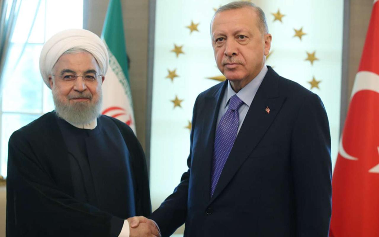 Cumhurbaşkanı Erdoğan ile Hasan Ruhani arasında kritik görüşme