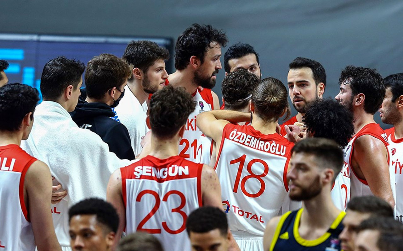 A Milli Erkek Basketbol Takımı'nın maç takvimi açıklandı