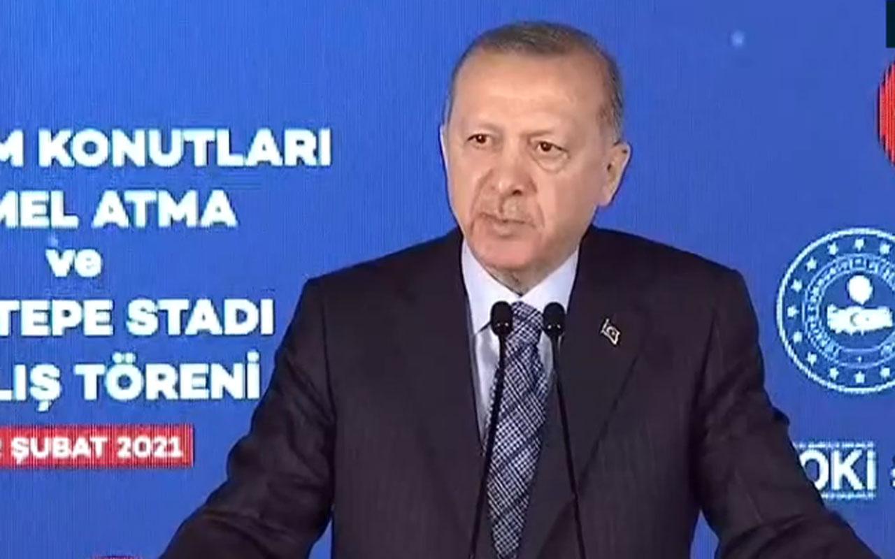 Cumhurbaşkanı Erdoğan İzmir'deki teme atma ve açılış töreninde uyardı: Çok geç olmadan...