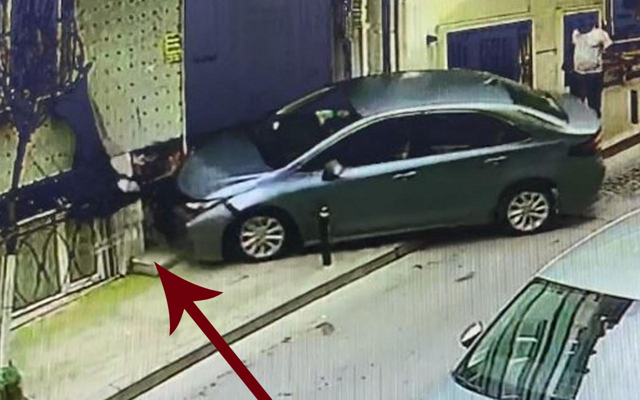 Burası İstanbul'un göbeği! Bastonlu yaşlı adam dehşeti yaşadı