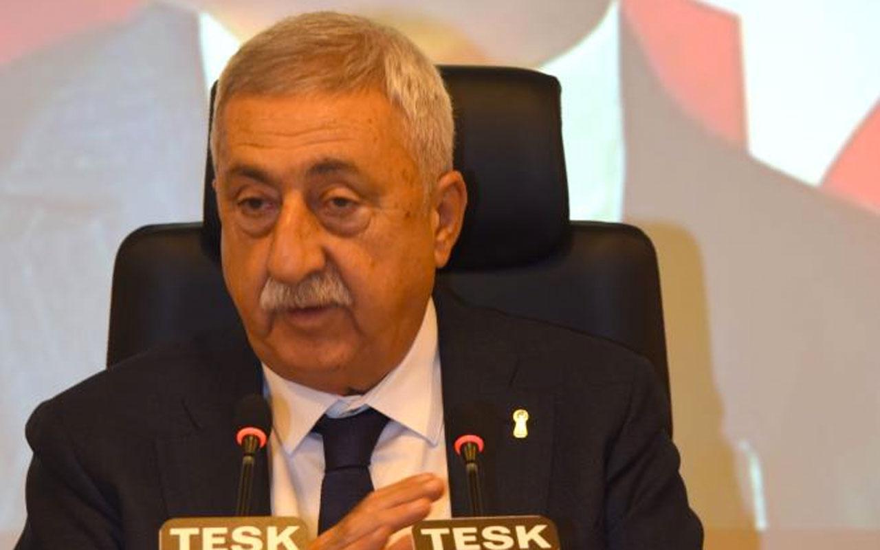 TESK Genel Başkanı Bendevi Palandöken: Esnafa verilen destekler 1 yıl daha sürmeli