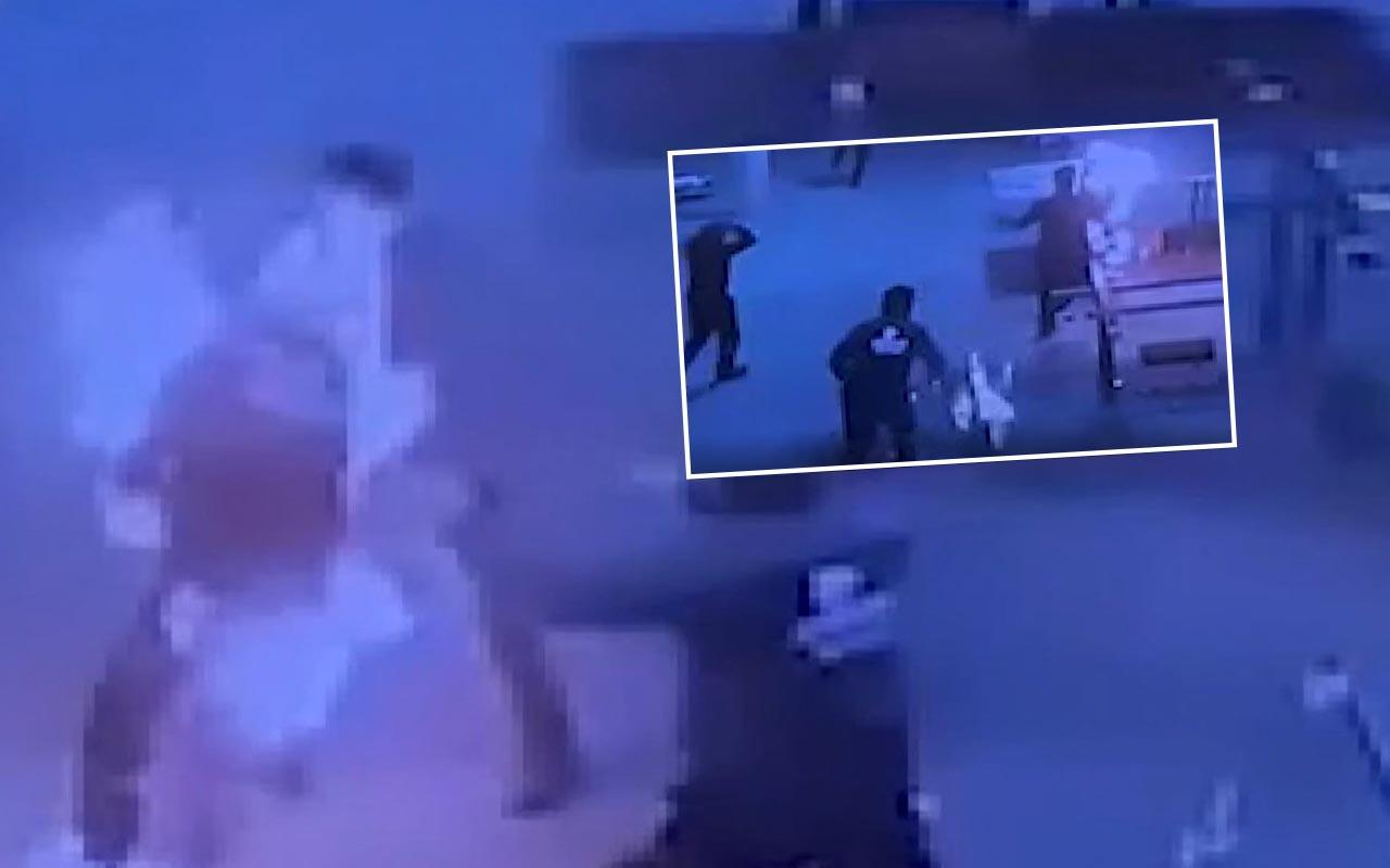 Ankara'da korkunç anlar! Sobaya dökülen tiner patladı 2 işçi alev topuna döndü
