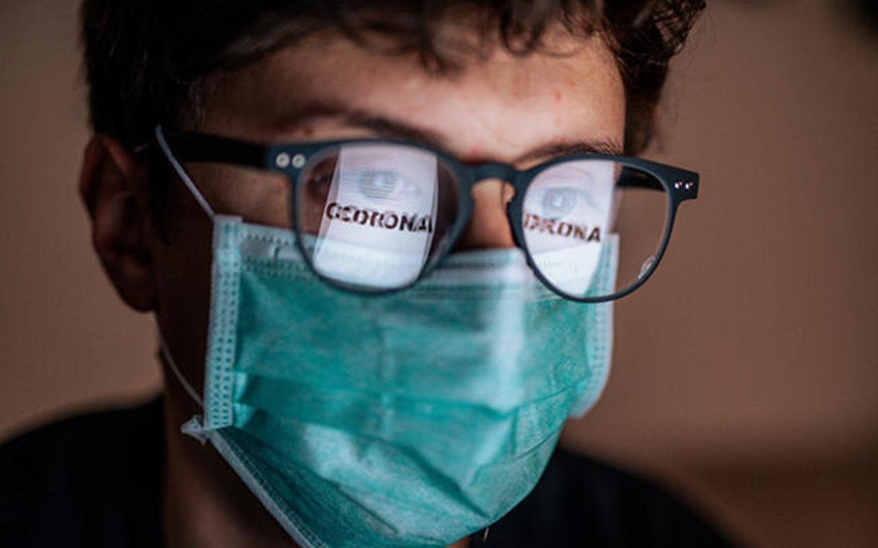 Hindistan'da koronavirüs araştırması: Gözlük kullananlar üç kat şanslı!
