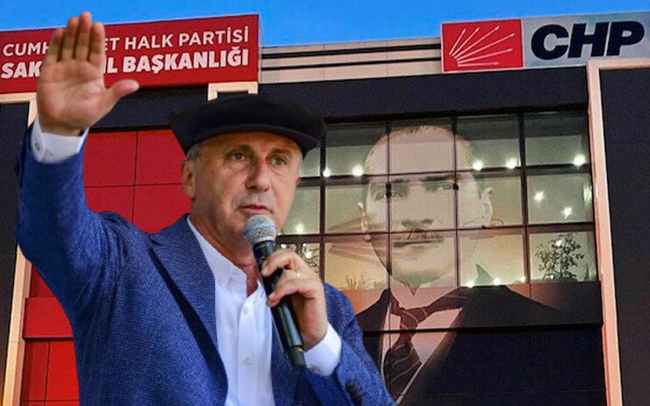 CHP Sakarya teşkilatında 120 üye istifa etti! Muharrem İnce'nin partisine geçecekler