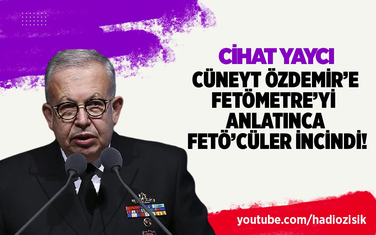 Cüneyt Özdemir'in Cihat Yaycı röportajı FETÖ'cüleri çılgına çevirdi!