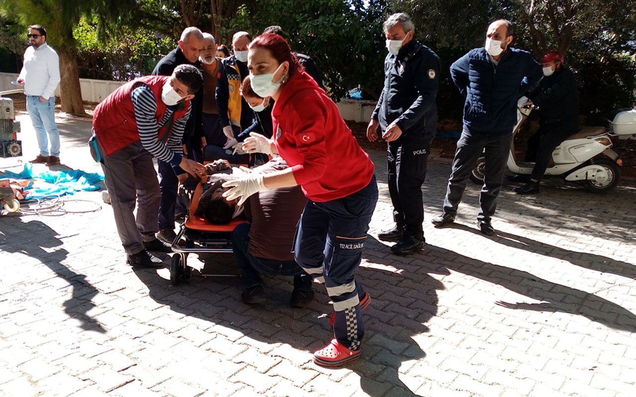 Adana'da yüksekten düşen inşaat işçisi yaşamını yitirdi