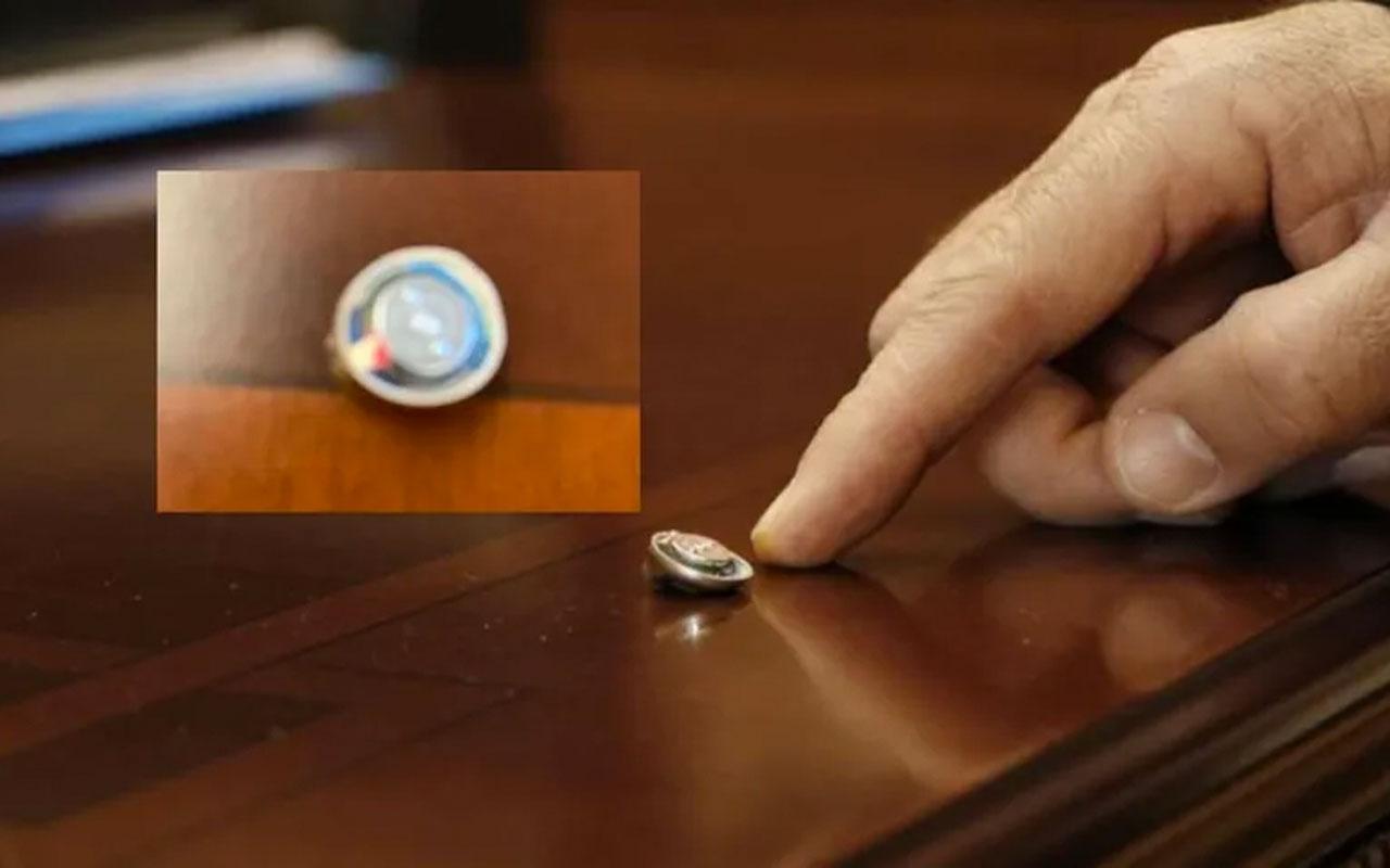 Denizli Honaz Belediye Başkanı Yüksel Kepenek'in odasında dinleme cihazı bulundu