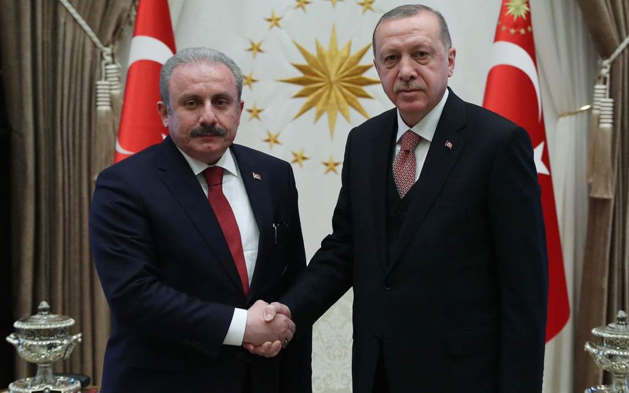 Cumhurbaşkanı Erdoğan ve Mustafa Şentop'tan HDP'lilerin fezlekesine ilk yorum