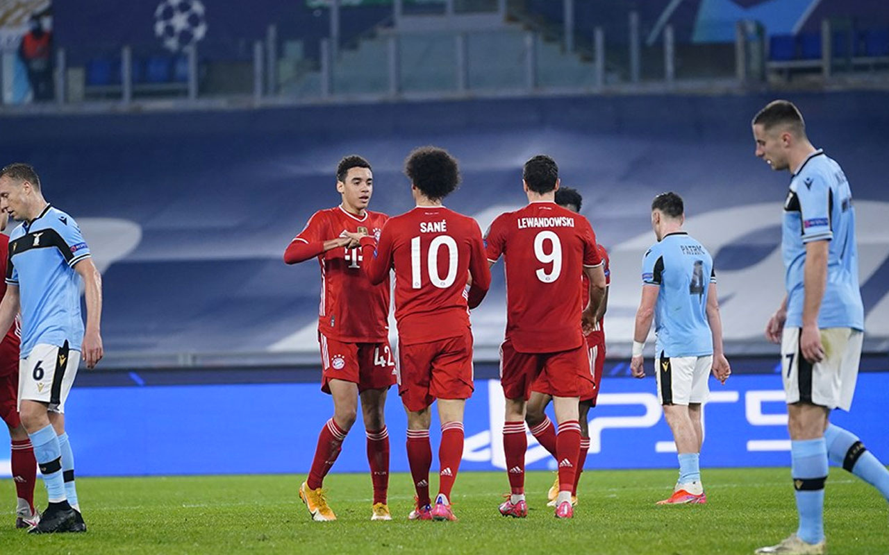 Bayern Münih Lazio'ya acımadı tur kapısını araladı