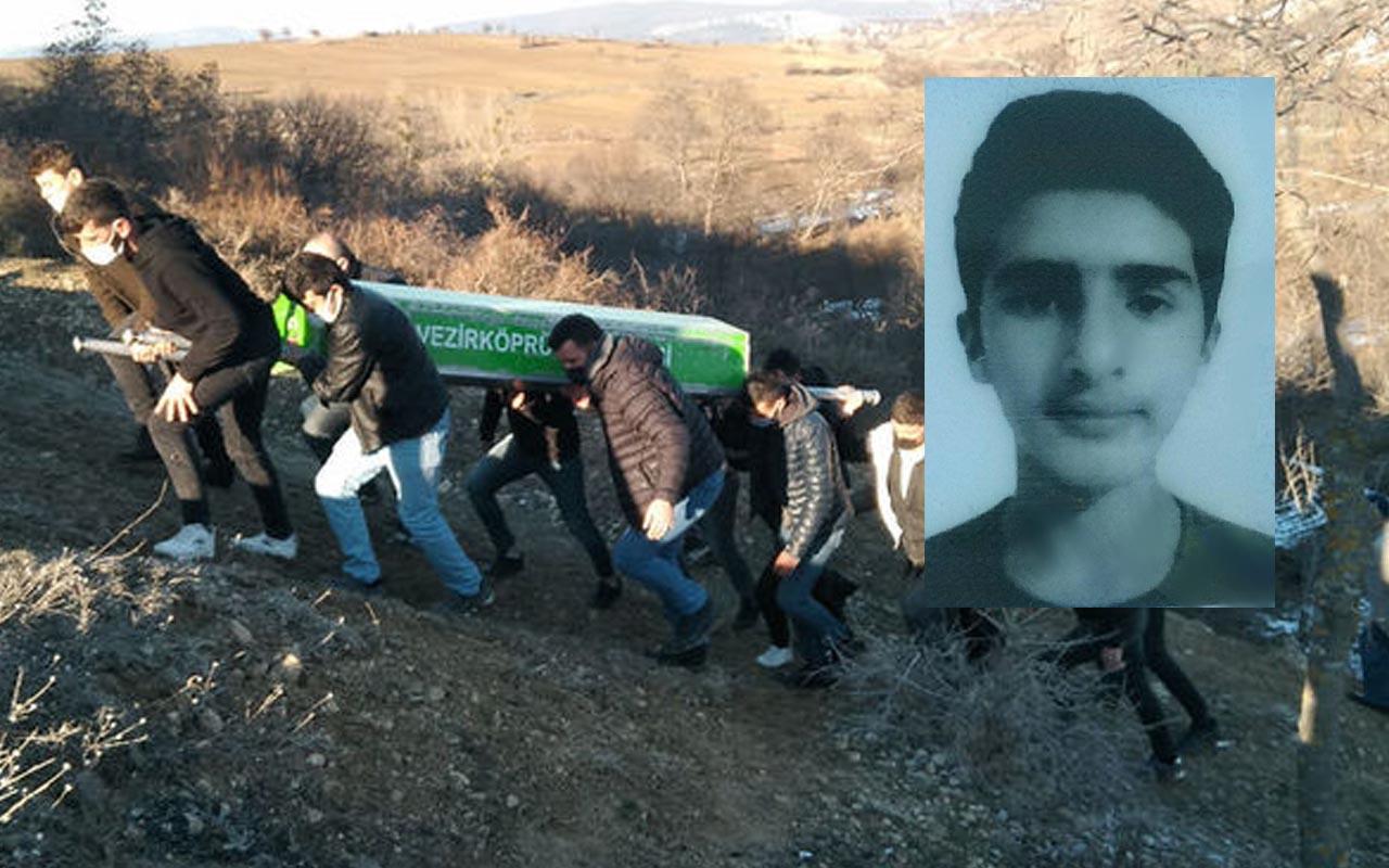 Samsun'da 15 yaşındaki çocuk sincap avında kaza kurşununa kurban gitti