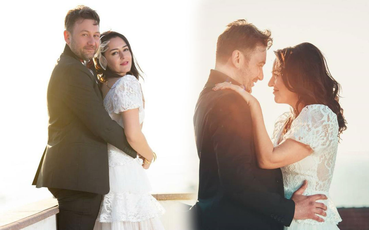 Eşkıya Dünyaya Hükümdar Olmaz Gözde Okur evlendi nikah şahidi bakın kim
