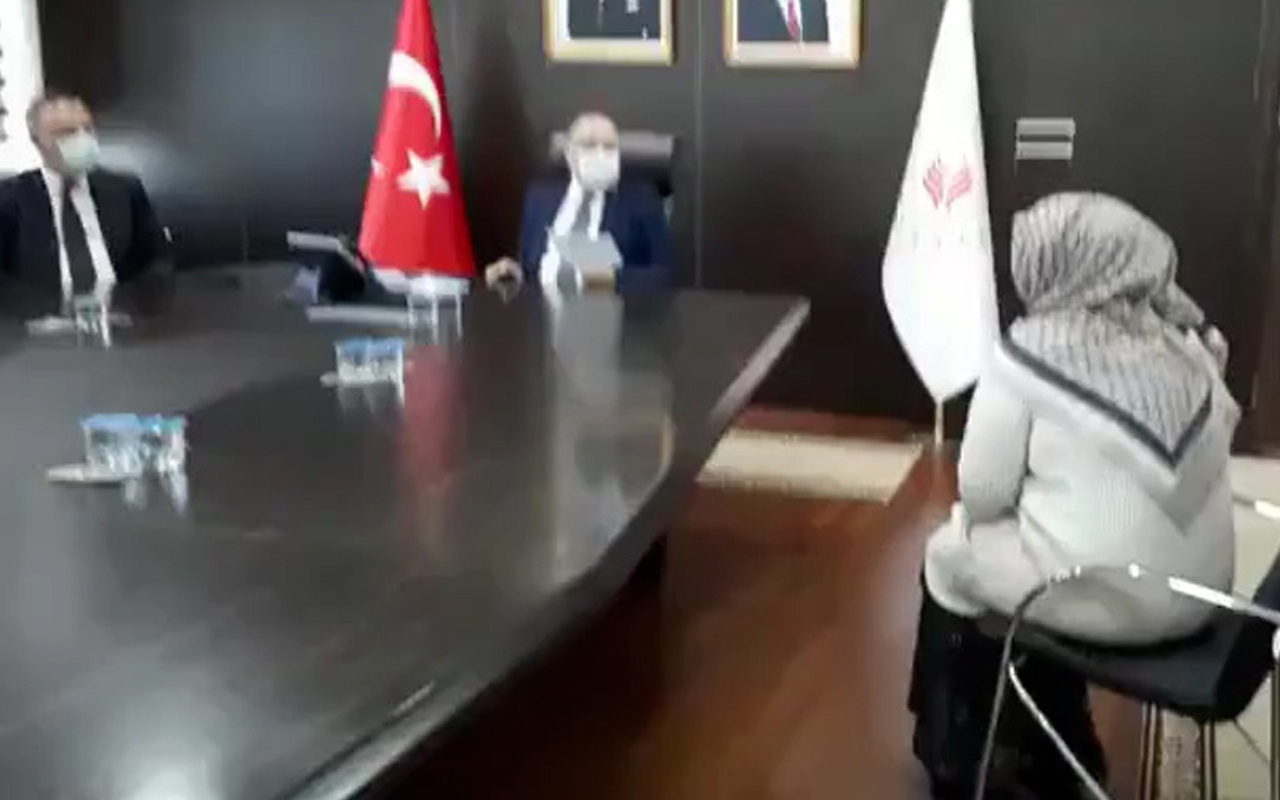 Zonguldak'ta 7 bin TL geliri olan kadın yardım istedi, Vali şok oldu!