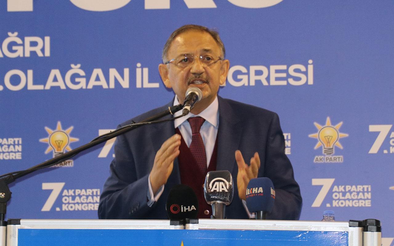 AK Parti Genel Başkan Yardımcısı MehmetÖzhaseki'den CHP'ye Gara tepkisi