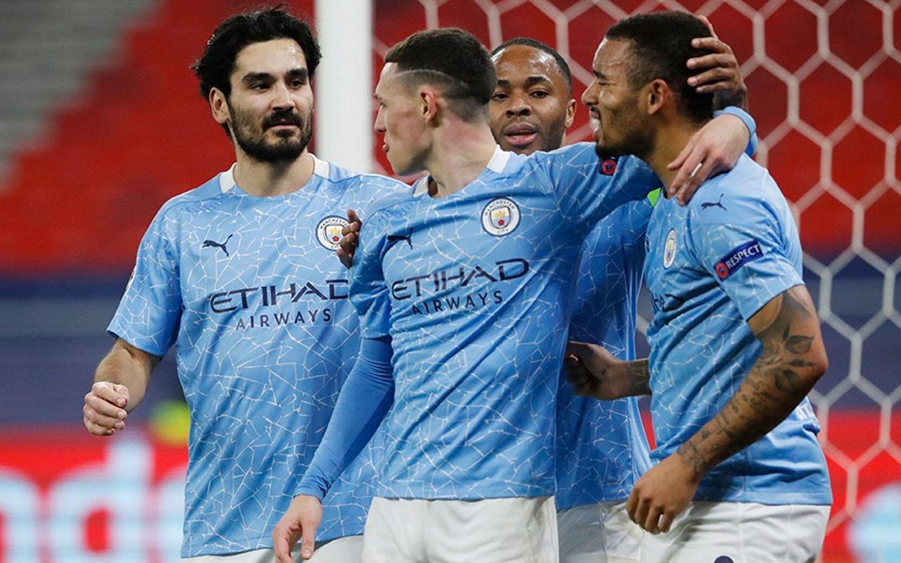 Manchester City, Gladbach'ı iki golle geçti