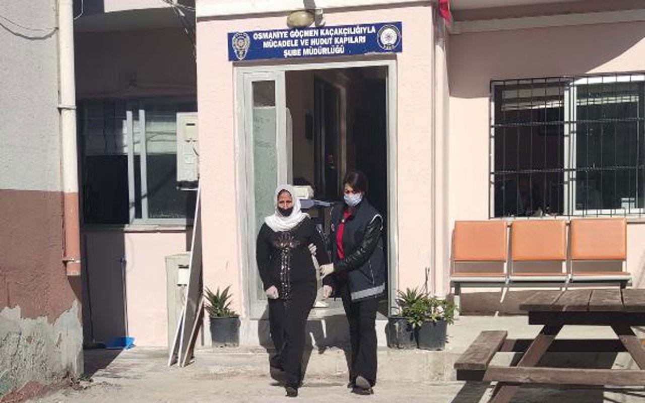 Bulaşıcı hastalık taşıma tehdit koduyla Türkiye'ye giriş yasağı bulunan Suriyeli kadın yakalandı
