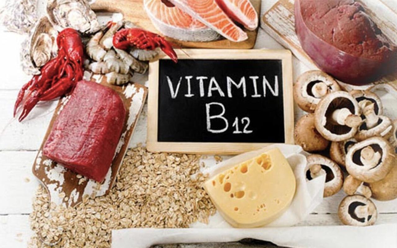 B12 vitamini nelerde var ne iş yarar B12 eksikliği belirtilere nelerdir bunamaya dikkat!