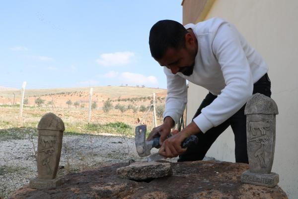 Şanlıurfa Göbeklitepe'de çıktı 3 haftada bıçakla yapıyor sipariş yağıyor