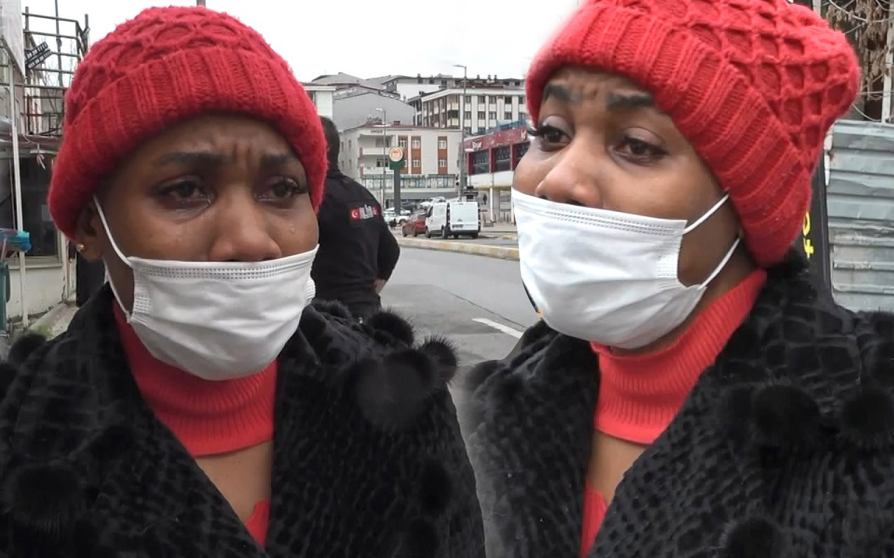 İstanbul'da fotokopi çektirirken bir anda oldu! Gözyaşlarına boğuldu